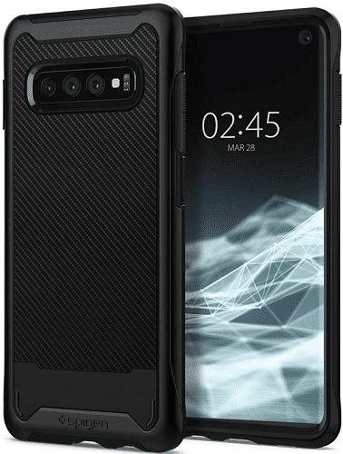 Spigen Hybrid NX pouzdro pro Samsung Galaxy S10+, černá