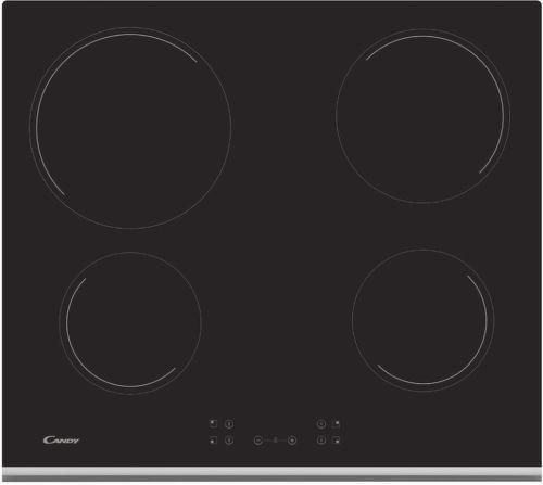 Candy CH 64 XB, černá sklokeramická varná deska