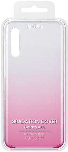 Samsung Gradation Cover zadní kryt pro Samsung Galaxy A50, růžová