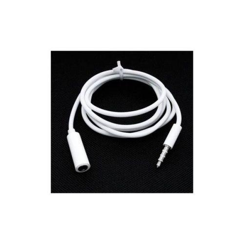MOBILNET Biely predlžovací kábel 3.5mm jack