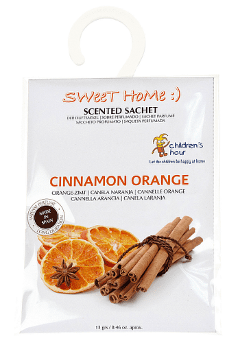 LCDLA SweetHome škorica -pomaranč