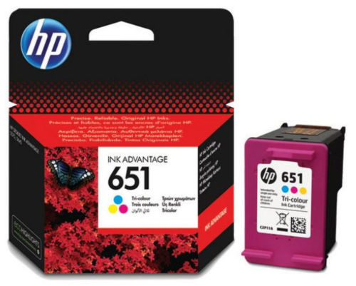 HP C2P11AE No.651 (color) - atrament