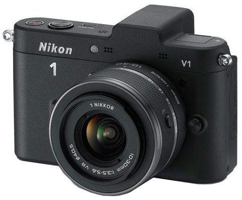 Nikon 1 V1 + 10-30 VR (černý)