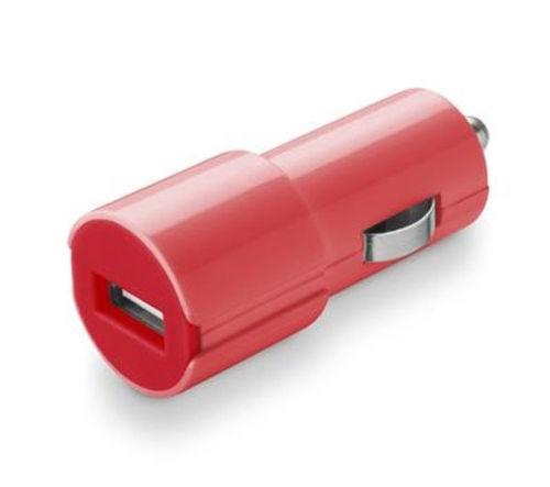 CELLULARLINE STYLE&COLOR autonabíjačka USB, 1A,ružová
