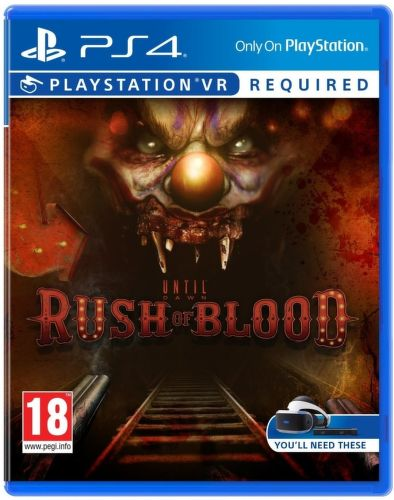 SONY VR Until Dawn: Rus, PS4 hra
