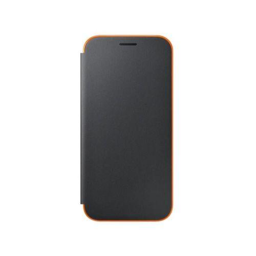 SAMSUNG A5 Neon BLK, Flipové púzdro_1