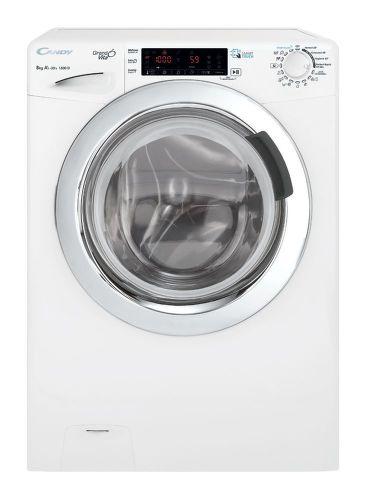 CANDY GVS44 138TWHC3-S, bílá slim pračka smart pračka plněná zepředu