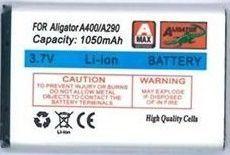 ALIGATOR A400, Li-Ion 1050 m, Baterie