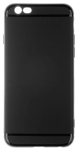 Winner Puzdro pre iPhone 6/6S TPU Pastels (čierne)