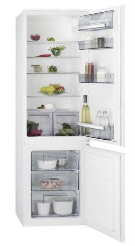 AEG SCB51811LS, bílá vestavná kombinovaná chladnička