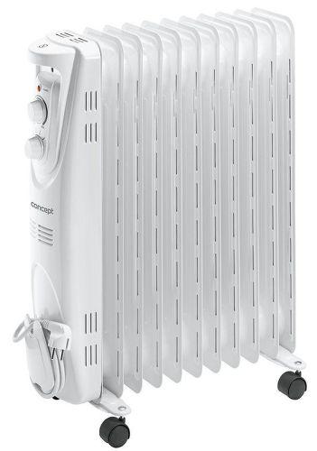 CONCEPT RO3211, bílý olejový radiátor