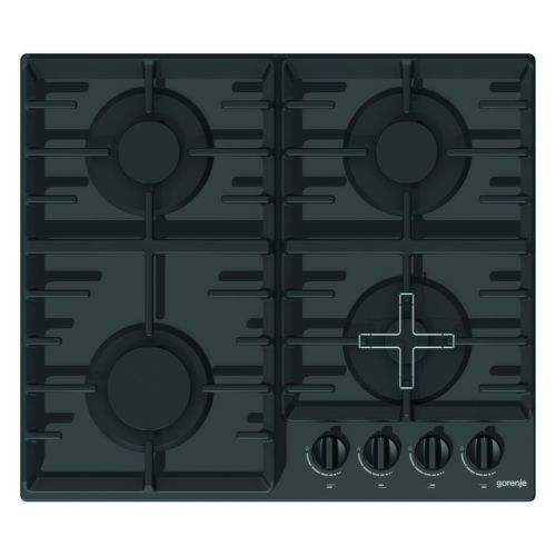 GORENJE GT641B, černá plynová varná deska