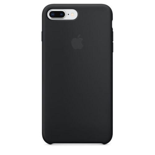 Apple Silicone Case pro iPhone 8+/7+, černá_1