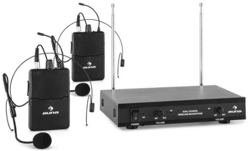 AUNA VHF-2-HS, Headset