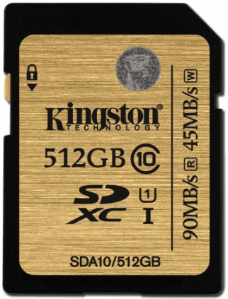 KINGSTON ULTI 512GB SDXC
