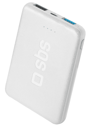 SBS Pocket powerbanka 5000 mAh, bílá