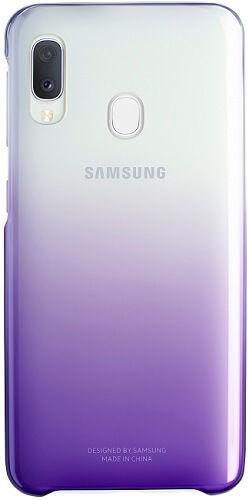 Samsung Gradation Cover zadní kryt pro Samsung Galaxy A20e, fialová