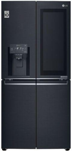 LG GMX844MCKV, černá americká chladnička