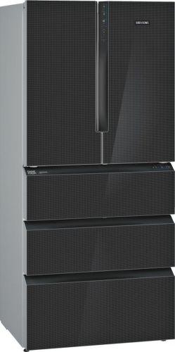SIEMENS KF86FPB2A, černá smart americká chladnička