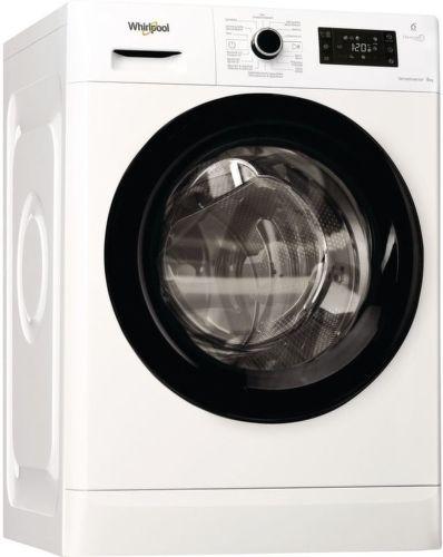 WHIRLPOOL FWG81496B CS, bílá pračka plněná zepředu