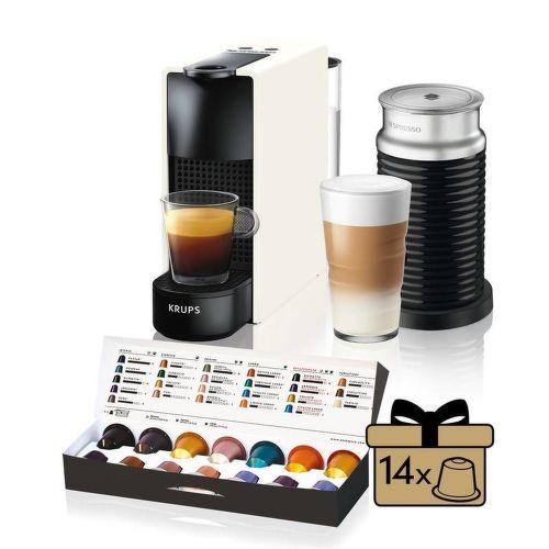 Nespresso Krups XN111110 Essenza Mini & Aeroccino 3