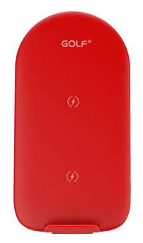 Golf WQ6 bezdrátová nabíječka, červená
