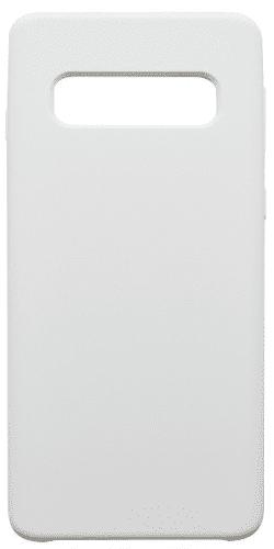 Mobilnet silikonové pouzdro pro Samsung Galaxy S10, bílá