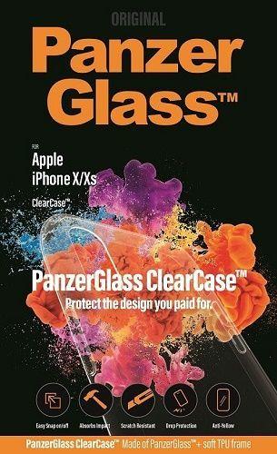 PanzerGlass ClearCase pouzdro pro Apple iPhone X/Xs, transparentní