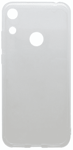 Mobilnet gumové pouzdro pro Honor 8A, transparentní