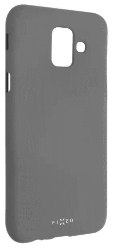 Fixed Story silikonové pouzdro pro Samsung Galaxy A6, šedá