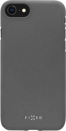 Fixed silikonové pouzdro pro Samsung Galaxy A70, šedá
