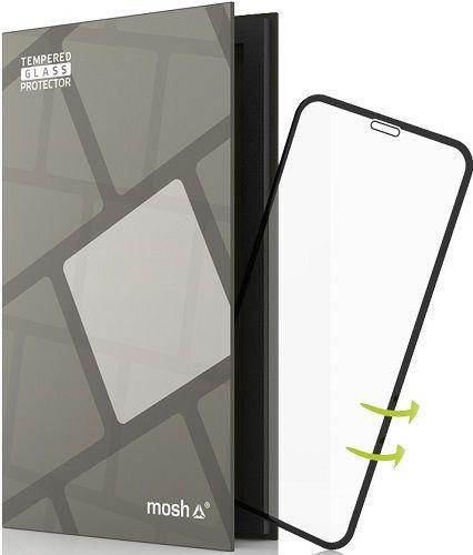 TGP tvrzené sklo pro iPhone X, černé