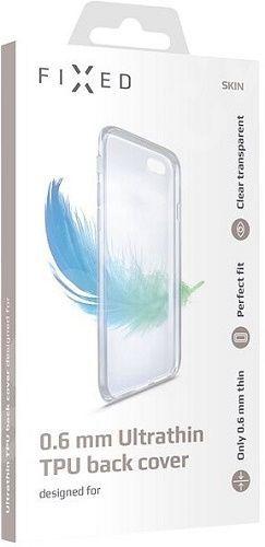 Fixed Skin TPU pouzdro pro Huawei Y7 2019, transparentní