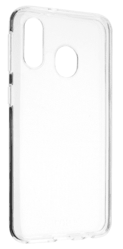 Fixed TPU ultratenké pouzdro pro Samsung Galaxy A40, transparentní