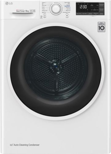 LG RC81EU2AV4Q, smart sušička prádla