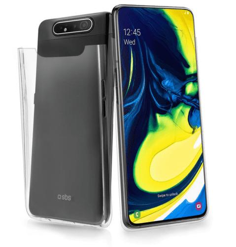 SBS Crystal pouzdro pro Samsung Galaxy A90 a A80, transparentní
