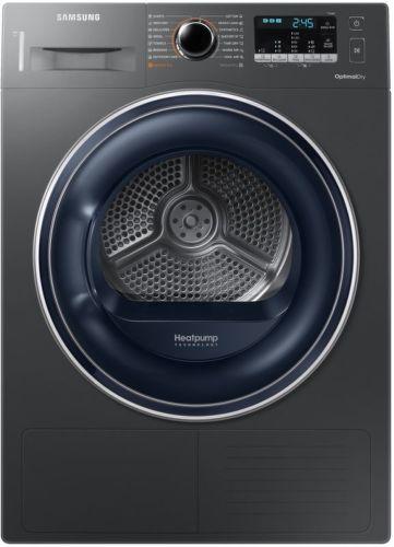 SAMSUNG DV80M50103X/LE, černá sušička prádla