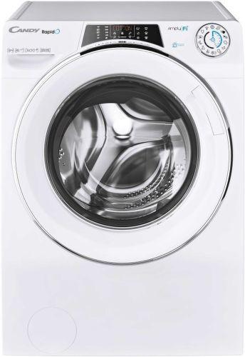 CANDY RO 1496DWHC7\1-S, bílá smart pračka plněná zepředu