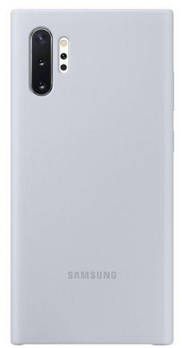 Samsung silikonové pouzdro pro Samsung Galaxy Note10+, stříbrná