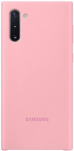 Samsung Silicone Cover pro Samsung Galaxy Note10, růžová
