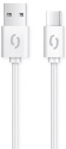 Aligator USB-C kabel 2A 1 m, bílá