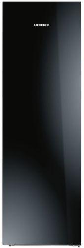 Liebherr KBPgb 4354, jednodveřová chladnička stříbrná s černým sklem