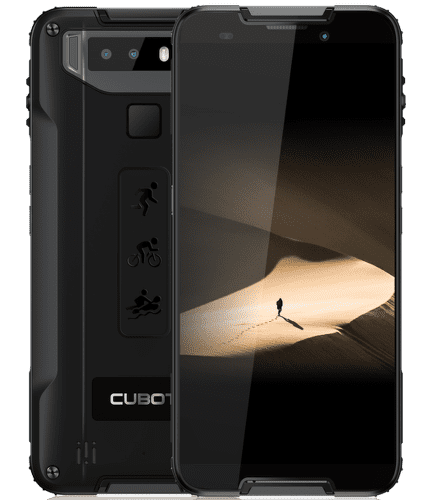 Cubot Quest 64 GB Dual SIM černý