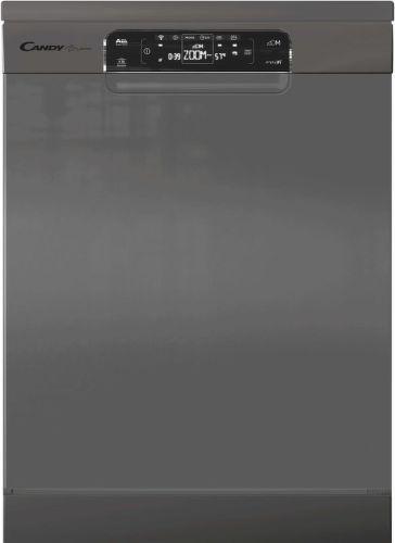 CANDY CDPN 4S603PX, stŕíbrná smart myčka nádobí