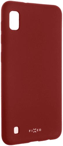 Fixed gumové pouzdro pro Samsung Galaxy A10, červena