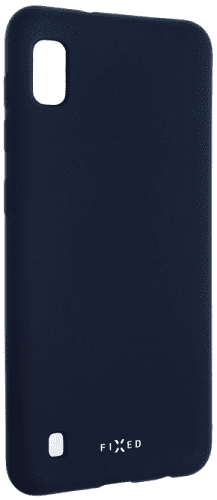 Fixed gumové pouzdro pro Samsung Galaxy A10, modrá