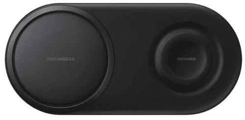 Samsung Duo Pad duální bezdrátová nabíječka, černá