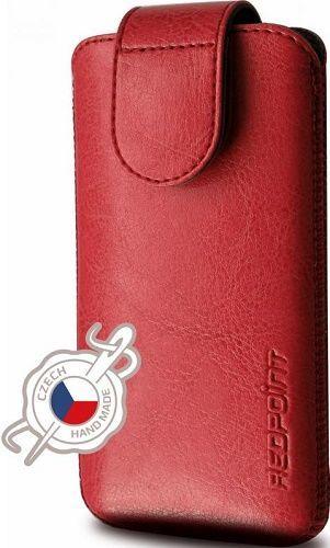 Fixed Sarif pouzdro z PU kůže 4 XL+, červená