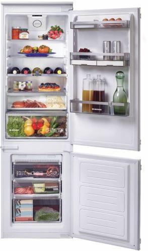 HOOVER BHBF 172 N, smart vestavná kombinovaná chladnička
