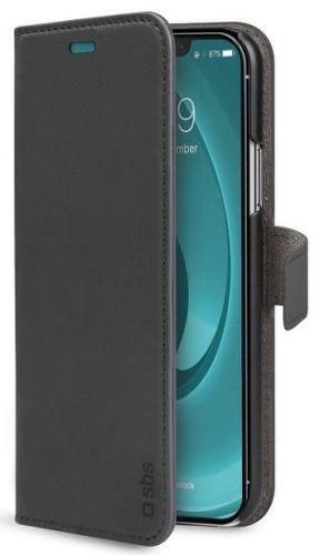 SBS Book Wallet pouzdro pro Apple iPhone Pro 11 Max, černá